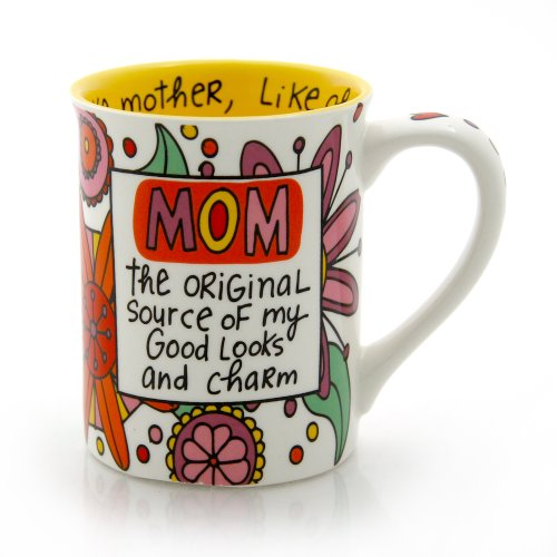 Our Name Is Mud 'Mom The Original' Mug by Lorrie Veasey, 4.5-Inch