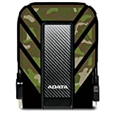 ADATA HD710M 1TB USB 3.0 Waterproof/ Dustproof/ Shock-Resistant External Hard Drive, Camouflage (AHD710M-1TU3-CCF)