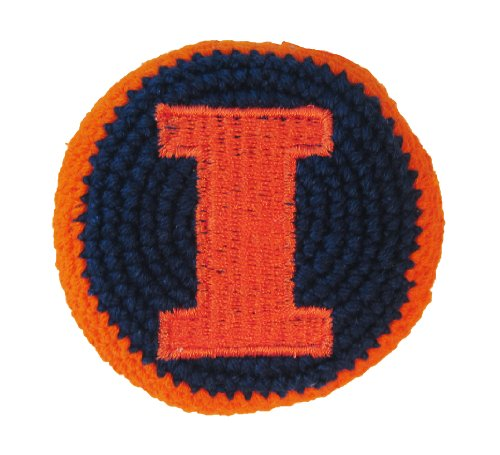 Hacky Sack - College Logo ILLINOIS Design