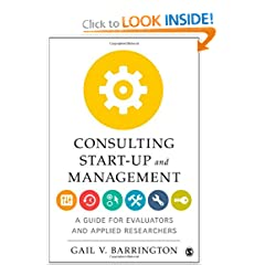 Books business investing management leadership management consulting start up and management a guide for evaluators and applied researchers 9781412987097 gail v barrington books fandeluxe Gallery