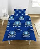 SINGLE SIZE BED OFFICIAL EVERTON FC DUVET COVER BEDDING SET