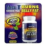 Mega-T Green Tea Supplement - Burns Belly Fat - 180 Caplets