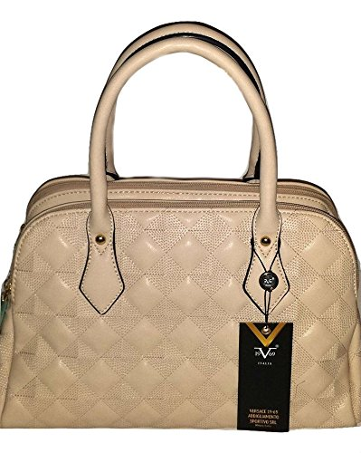 Versace Gorgeous Beige Duffle Bag