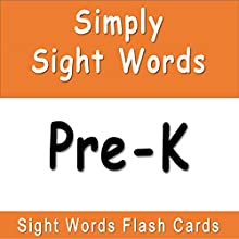Simply Sight Words - Pre-K Audiobook by J.D. Ware Narrated by P.K. Ware