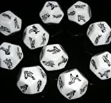 12 Sided Love Sex Erotic Dice Toy For Lover Gift Party Game Adult Fun