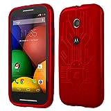 Motorola Moto E Cruzerlite Bugdroid Circuit Case for Motorola Moto E - Red
