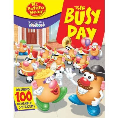 By Liane B. Onish Storytime Stickers: Mr. Potato Head: The Busy Day (Stk) front-837986