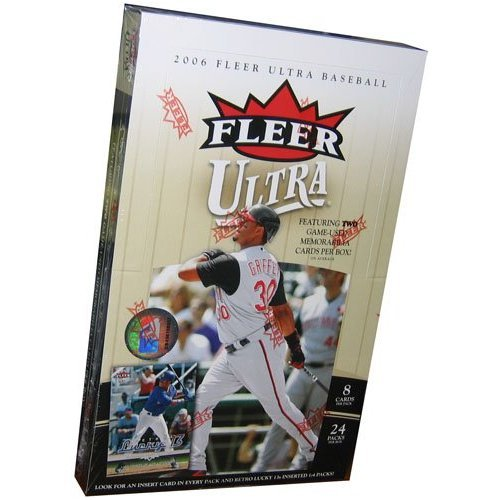 2006 Fleer Ultra Baseball Card Unopened Hobby Box