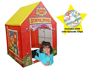 Yo Gabba Gabba Playhouse-School House (Yellow)