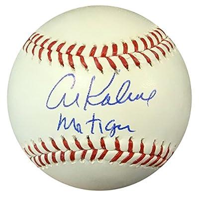 """Al Kaline Autographed Official Mlb Baseball Detroit Tigers """"mr. Tiger"""" Psa/dna Stock #94291"""