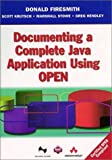 img - for Documenting a Complete Java Application Using Open book / textbook / text book