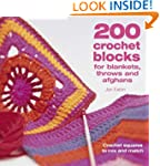 200 Crochet Blocks for Blankets, Thro...