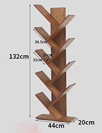 TH Scaffale per libri Creative Bookshelf Bookshelf Office Stand Stand Landing Tree ( dimensioni : 5-tier )