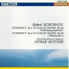 Schumann: Symphony No. 1 & 3