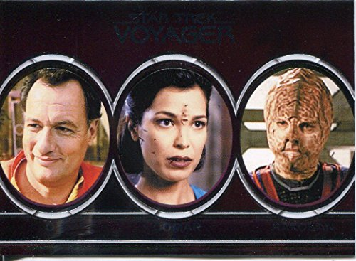 Star Trek Voyager H & V alieni Chase, A8, Q, Qomar, Rakosan, Repto-Humanoid, Romulan Sakari