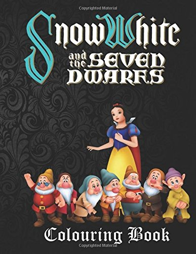 Snow White & the Seven Dwarfs Colouring Book