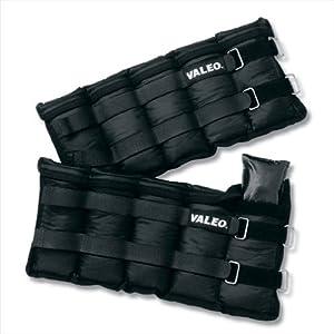 Valeo AW10 10-Pound Adjustable Ankle / Wrist Weights