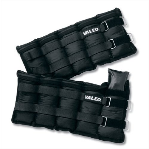 Buy Now at Amazon.com: Valeo AW10 10 Lb. Adjustable Ankle/Wrist Weights