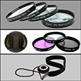 Professional Filter Kit For Nikon D3000 and D5000 DSLR - Superdeal Exclusive