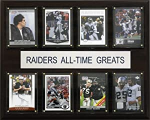 NFL Oakland Raiders All-Time Greats Plaque by C&I Collectables