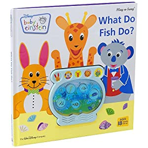 What do fish do play a song baby einstein for Baby fish song