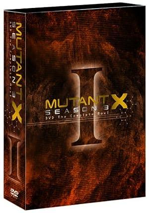 ミュータントX シーズン3 DVD The COMPLETE BOX 1