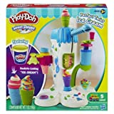 "Play-Doh Perfect Twist Ice Cream Playset (MFG Age: 6 years and up)(?Crank out realistic-looking ""ice cream"" with the Perfect Twist Ice Cream playset) by Play-Doh [Toy] (English Manual)"