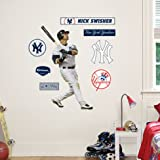(21x33) Nick Swisher - New York Yankees Junior Fathead Wall Decal