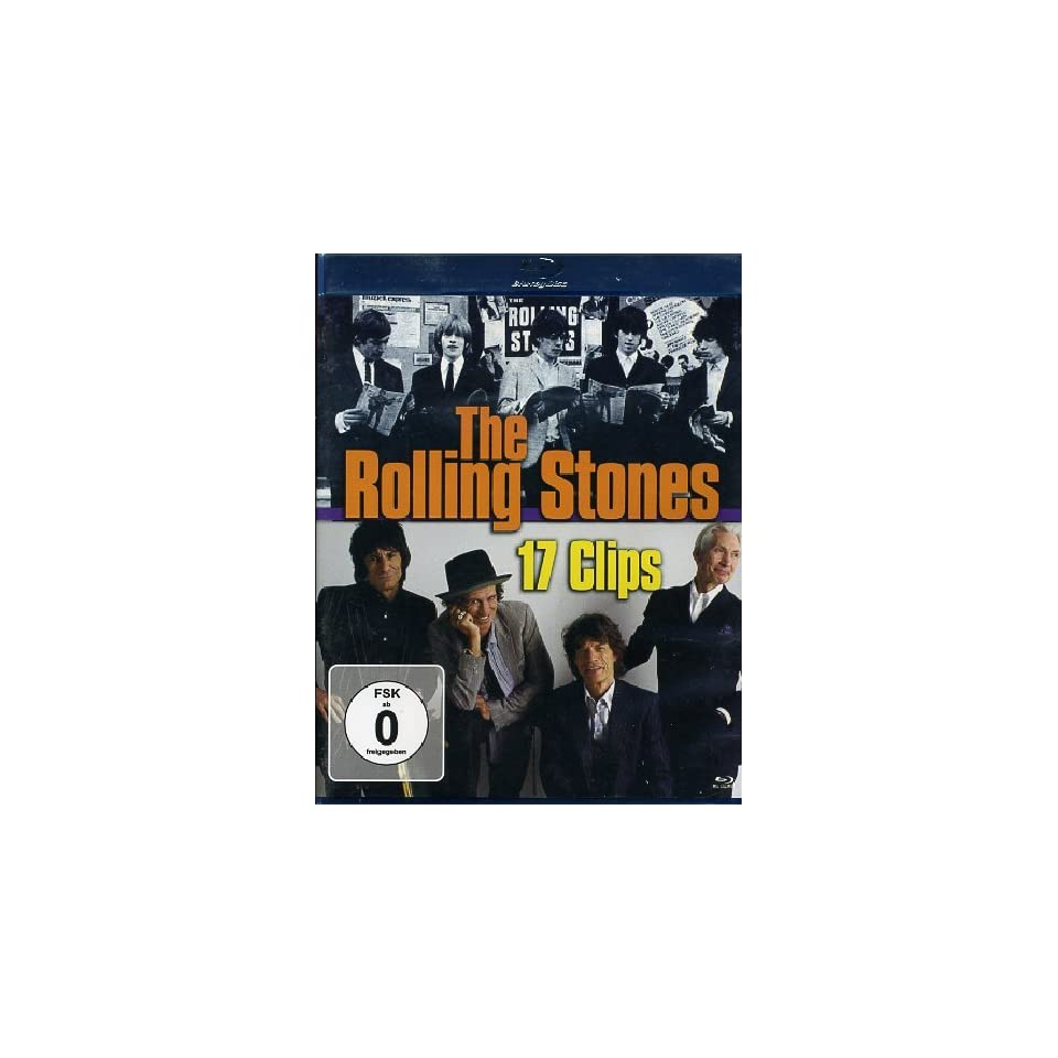 Rolling Stones (The)   17 Clips Rolling Stones DVD & Blu ray