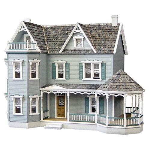 Real Good Toys Glenwood Dollhouse with Curved Stairs - Milled Plywood Wall Finish (Real Good Toys Furniture compare prices)