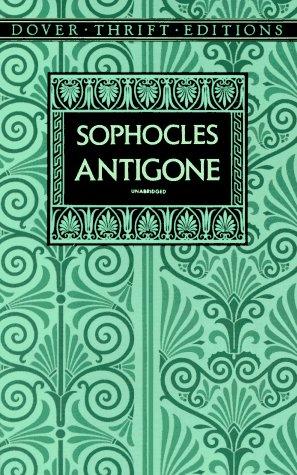 Image for Antigone (Dover Thrift Editions)