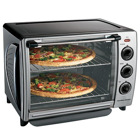 ... Countertop 1.1-Cubic-Foot Convection Oven with Rotisserie for $65.99