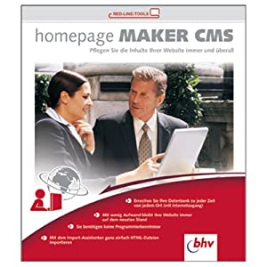 Homepage Maker CMS