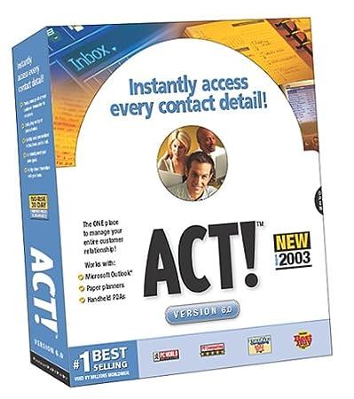 ACT! 6.0 Upgrade