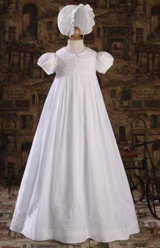 Cotton Christening Gowns For Girls