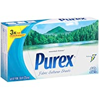 Purex Fabric Softener Dryer Sheets (40-Count)