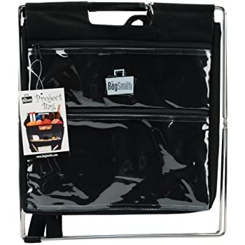 Set A Shopping Price Drop Alert For Bagsmith Black Project Bag Knitting Craft Collapsible Storage Stand