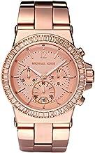 Comprar Michael Kors - Reloj analógico de cuarzo para mujer con correa de acero inoxidable, color rosa