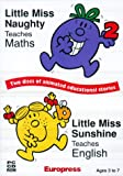 Mr Men: Little Miss Naughty Maths & Little Miss Sunshine English (DVD Case)