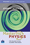 Student Access Kit: Mastering Physics For College Physics (Algebra-Trig Based: Required for Access to Online Materials) (0805382119) by Pritchard, David