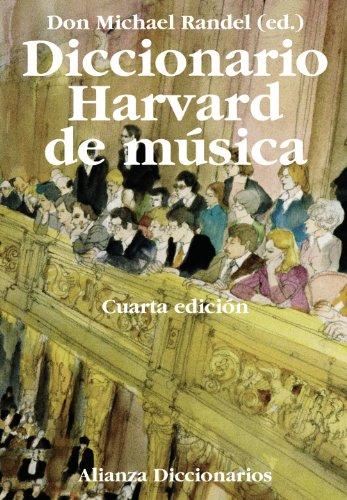 DICCIONARIO HARVARD DE MUSICA