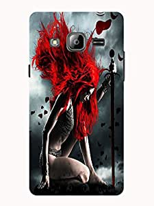 TREECASE Designer Printed Soft Silicone Back Case Cover For Samsung Galaxy J3