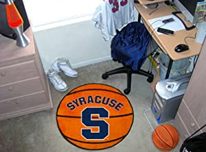 Syracuse Orange 29 Round Basketball Floor Mat (Rug) by Fanmats