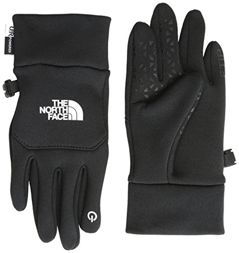 THE NORTH FACE, Guanti Bambino Youth Etip, Nero (TNF Black), M