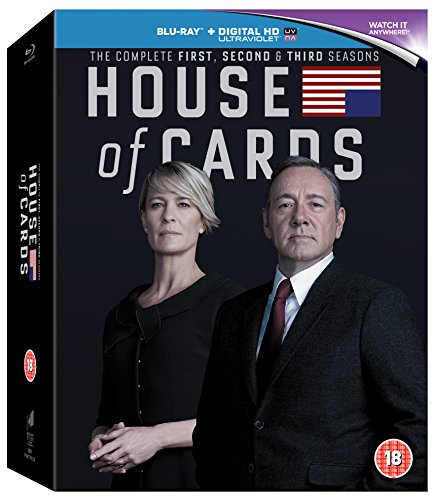 House of Cards The Complete Season 1 - 3 [Blu-ray] [Import]