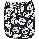 Alva Baby New Design Reuseable Washable Pocket Cloth Diaper Nappy + 2 Inserts YA132