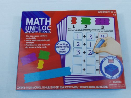 Math Uni-Loc Activity Puzzles