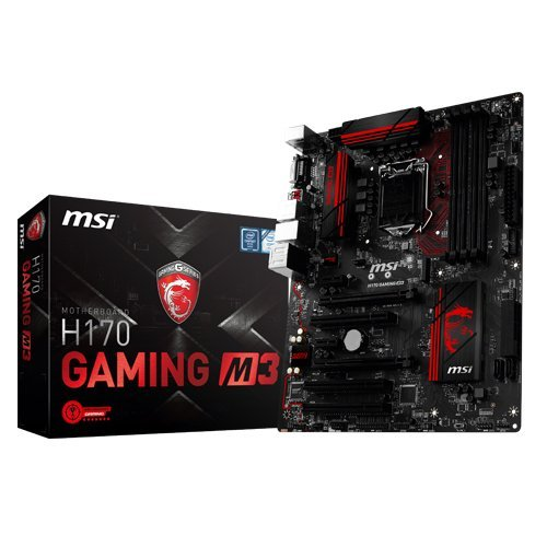 MSI H170 Gaming M3 Carte mère Intel ATX Socket 1151