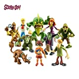 Scooby Doo Mystery Mates - Solving Crew and The Monsters Mega 10 Figure Pack