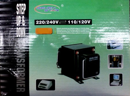 7 Star Thg-100 U/D Step Up & Down Voltage Transformer front-257949